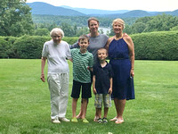 Four generations at tanglewood